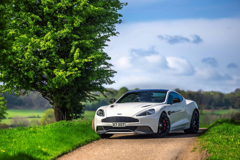 Aston Martin Vanquish Countryside Road