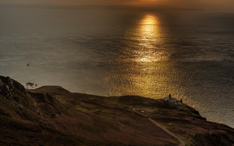 Evening on the Kintyre Peninsula.