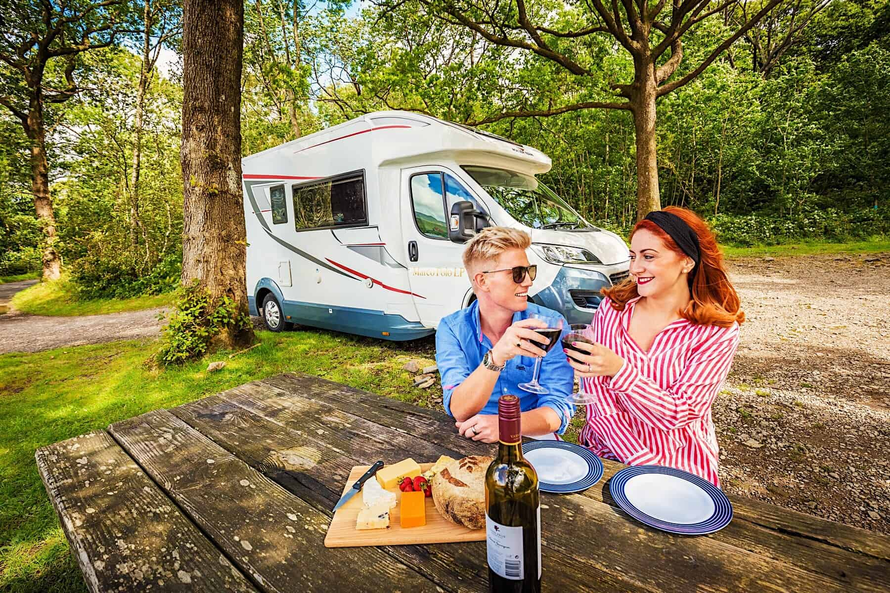 Motorhome Couple