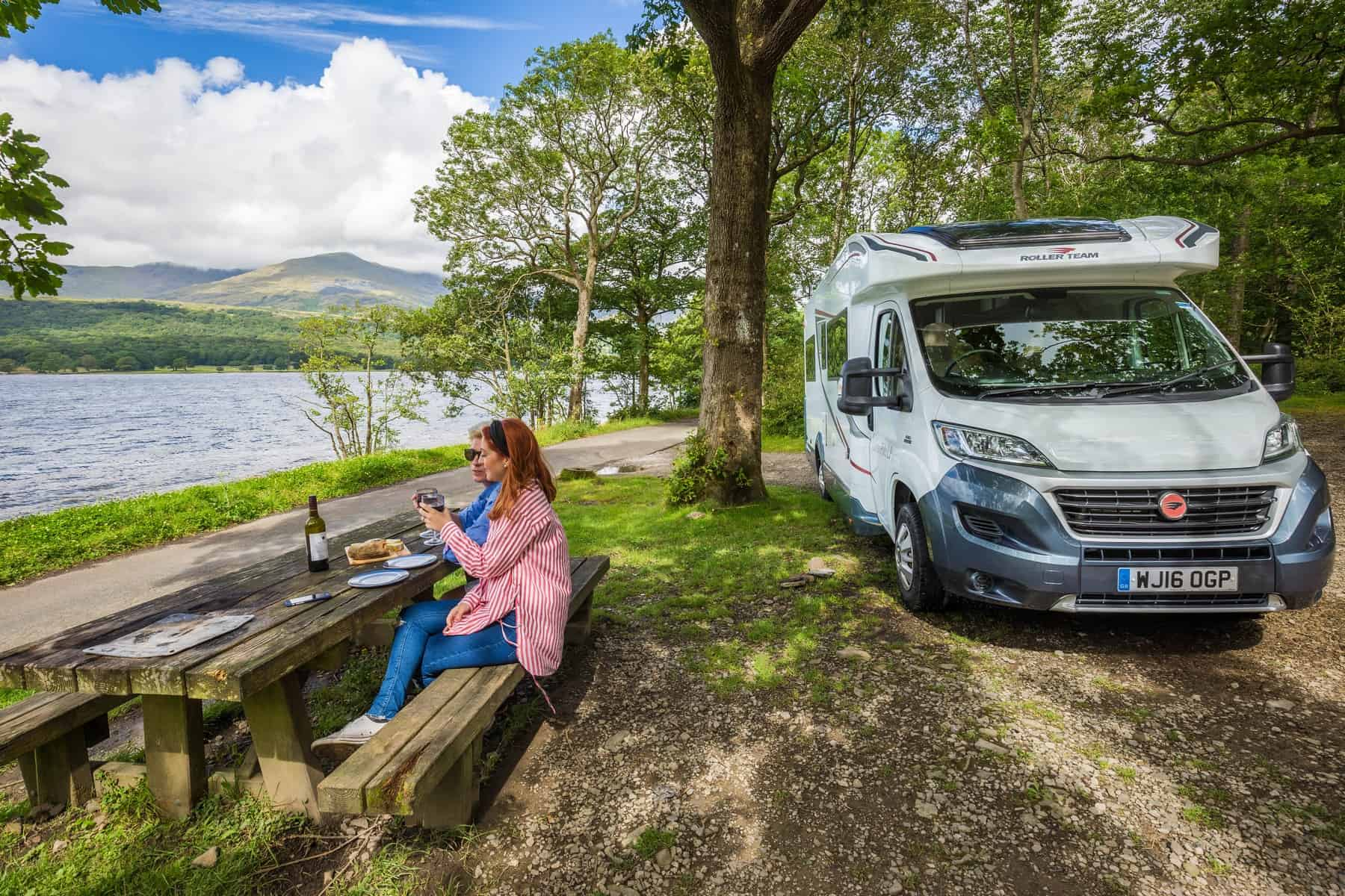 Motorhomes Couple