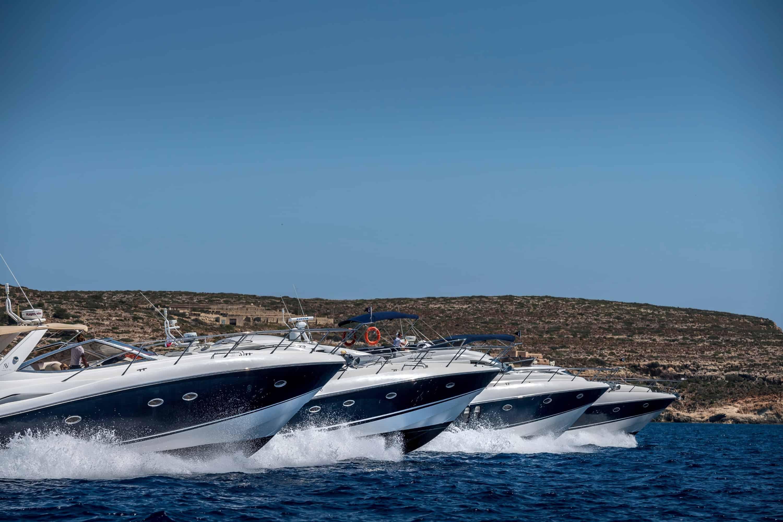Sunseeker Yachts Racing SideShot