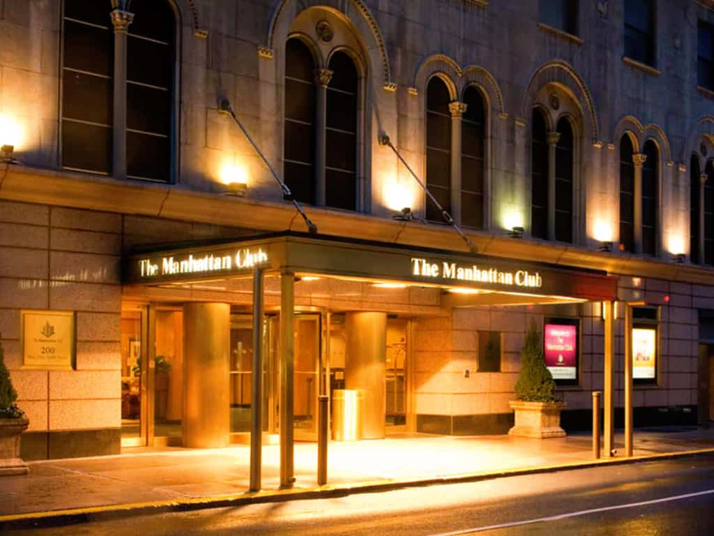 The Manhattan Club Front view